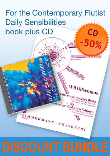 For the Contemporary Flutist + CD
