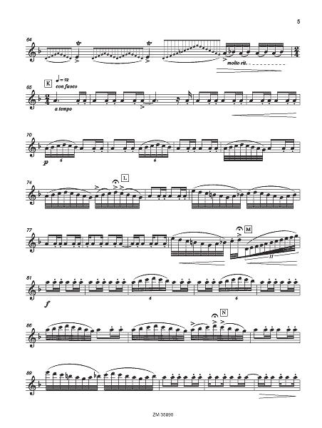 Luna y Sierra - score