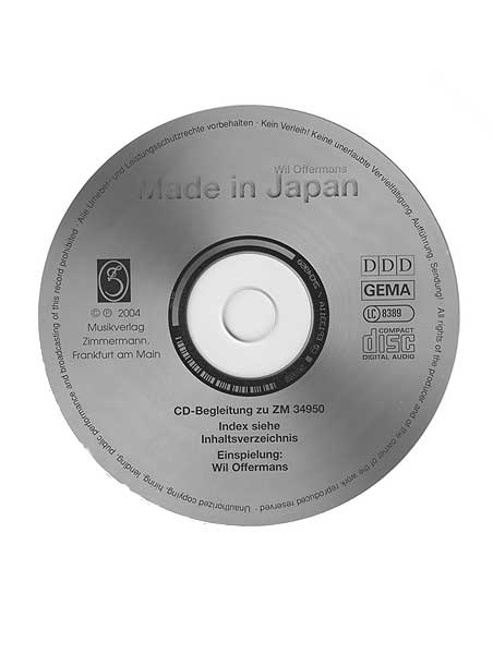 Made in Japan - score
