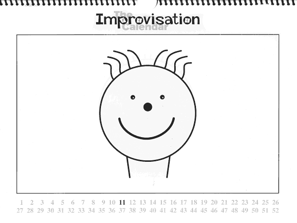 The Improvisation Calendar